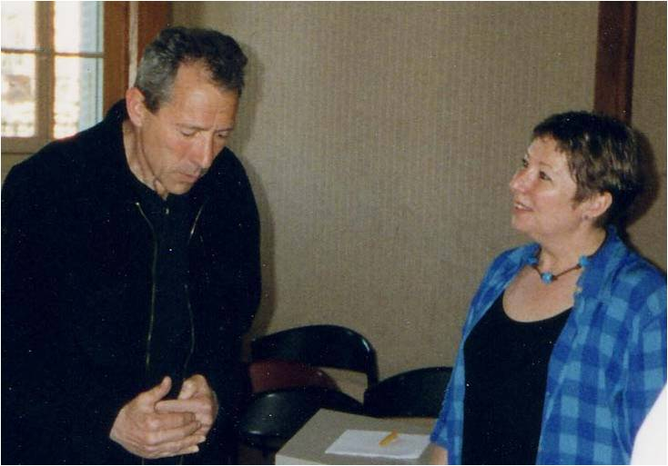 Israël Horovitz au Festival de Châtillon avec B. Croquet