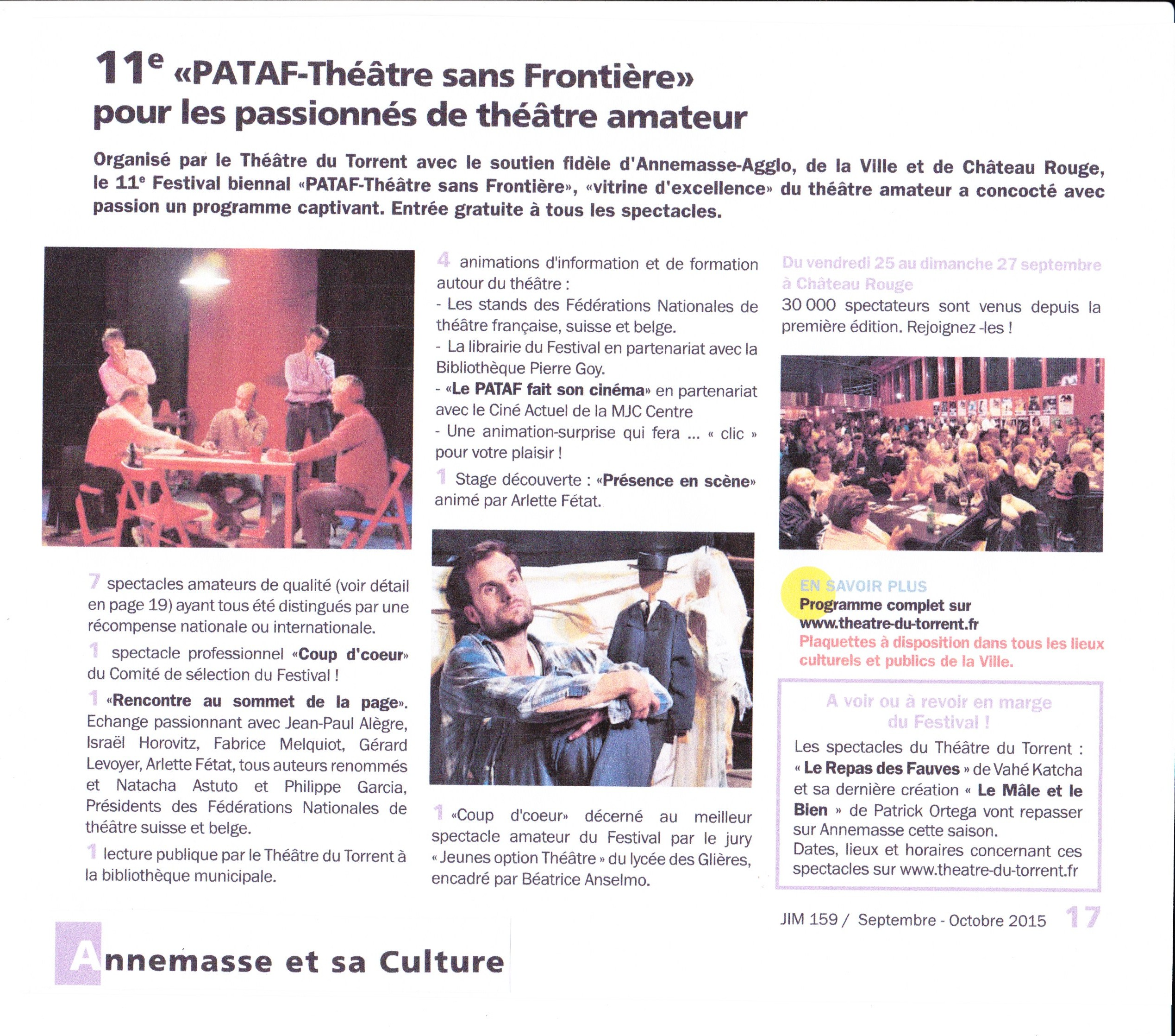 J.I.M. PATAF 2015