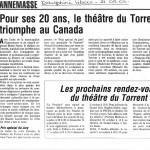 ARTICLE LE PREMIER AU CANADA